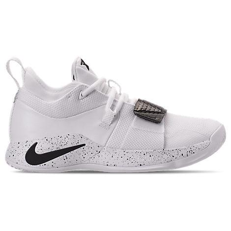 Shop Nike Men's Pg 2.5 Tb Basketball Shoes, White