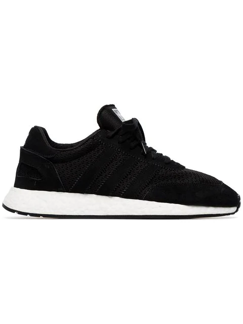 Shop Adidas Originals 1 5923 Suede Sneakers In Black