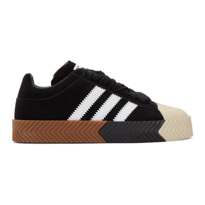 Shop Adidas Originals By Alexander Wang Black Skate Super