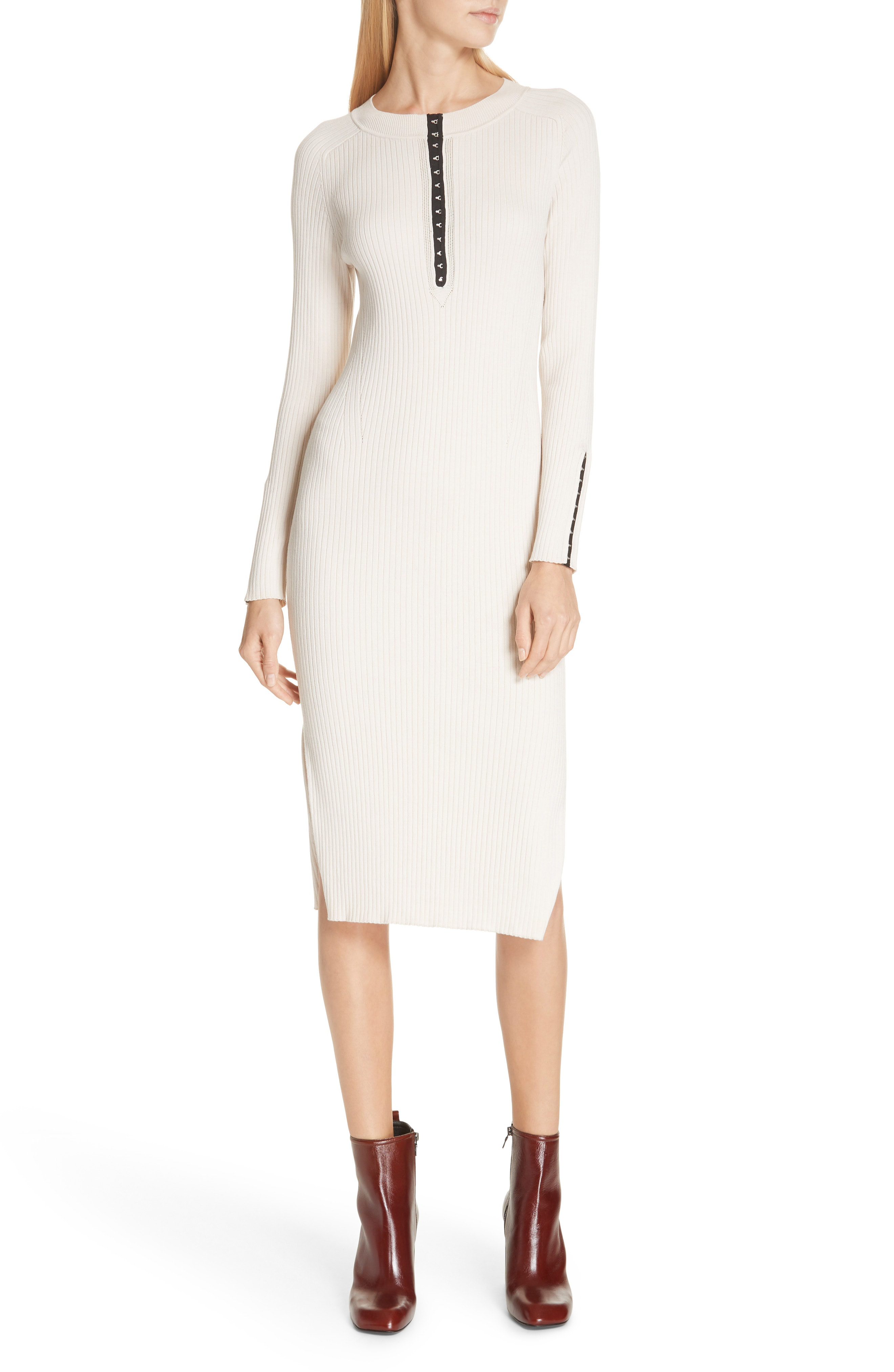 Rag Bone Brynn Rib Knit Dress In