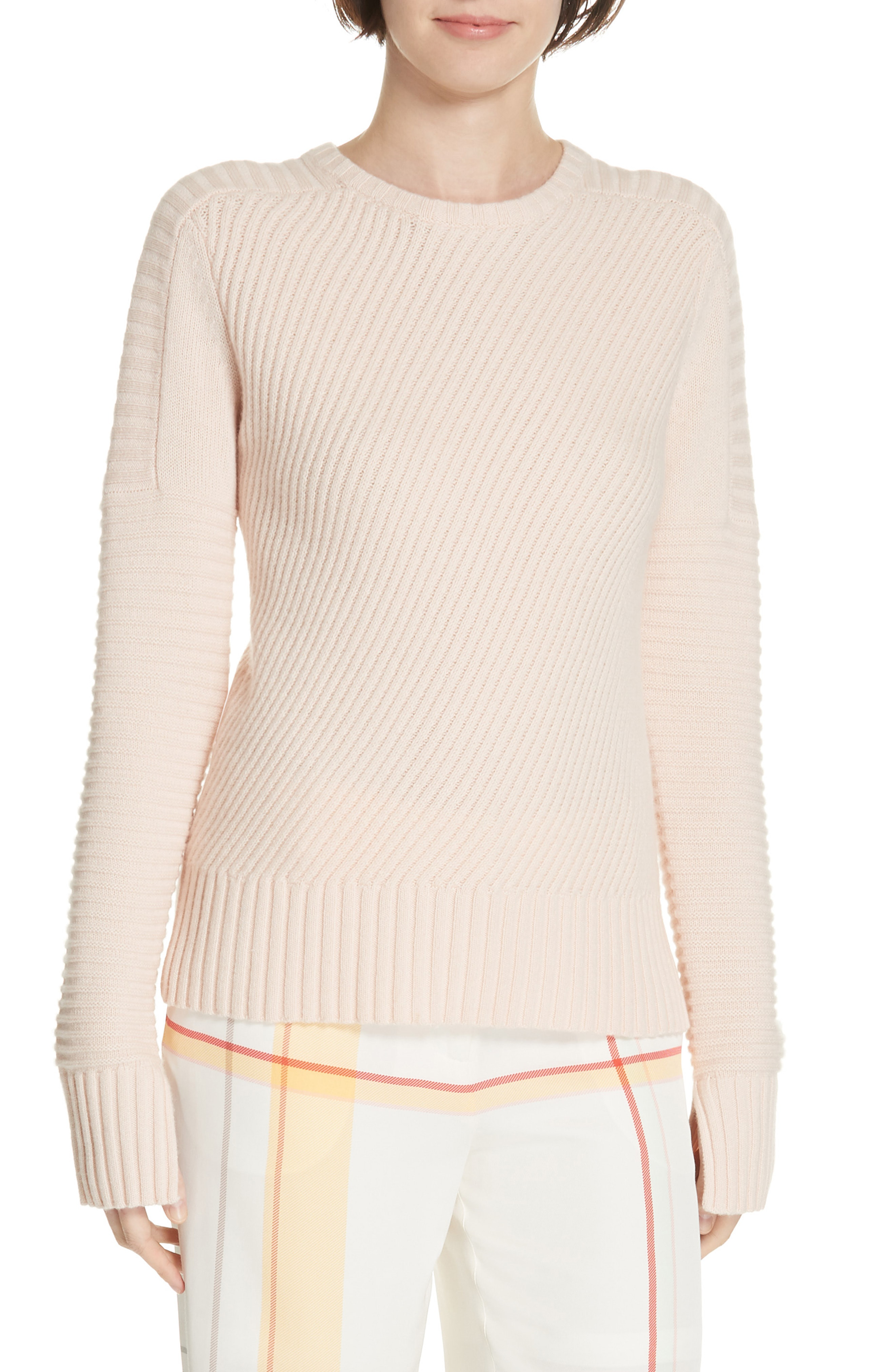 Shop Equipment Abril Wool & Cashmere Sweater In Rosette