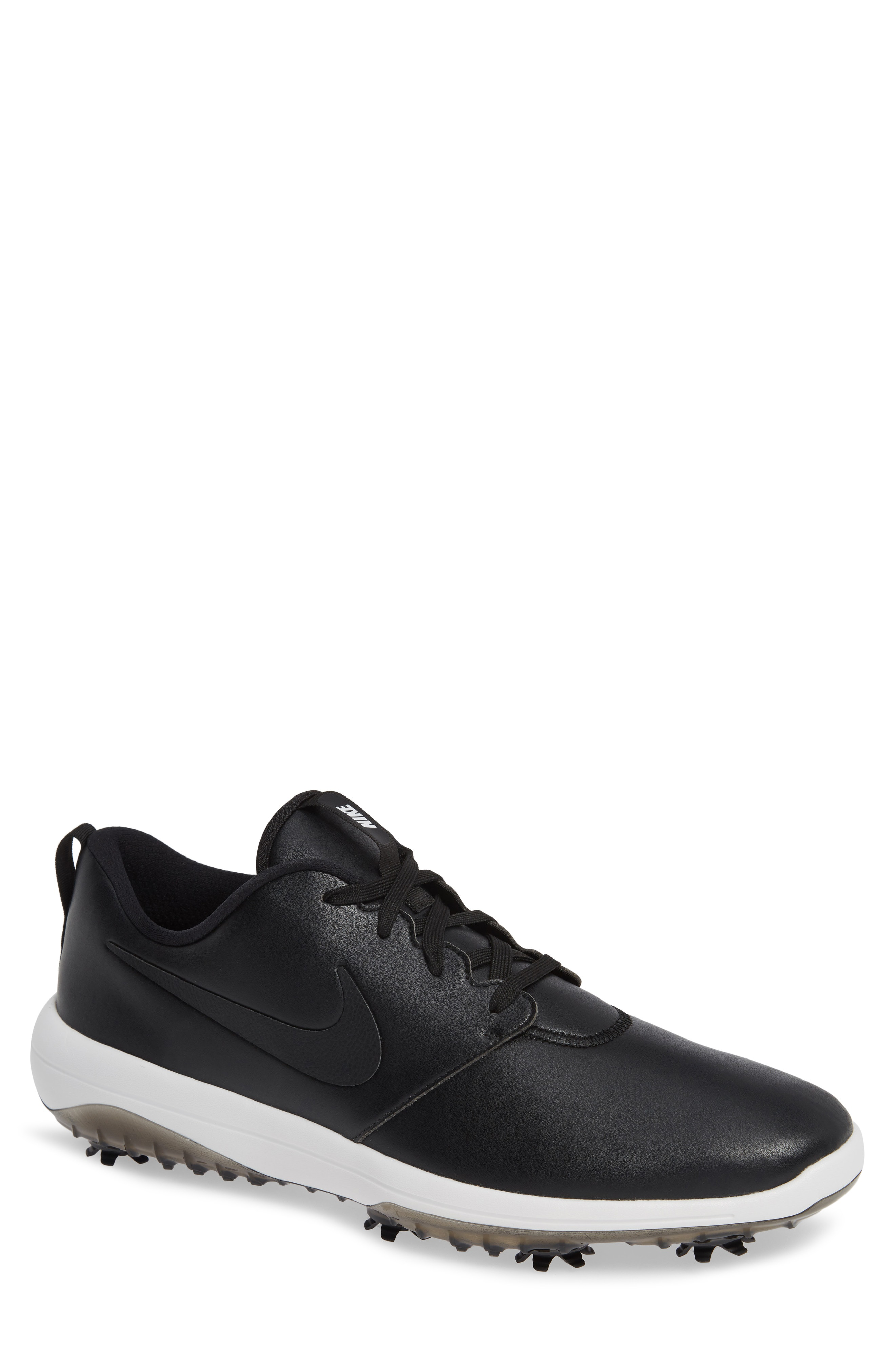 Shop Nike Roshe G Tour Golf Shoe In Black Summit White