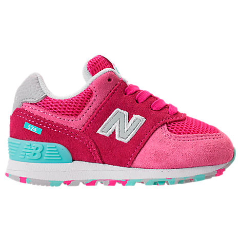 special sales authentic quality designer fashion Shop New Balance Girls' Toddler 574 Core Casual Shoes, Blue ...