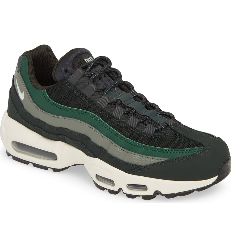 Shop Nike 'Air Max 95 Essential' Sneaker In Outdoor Green