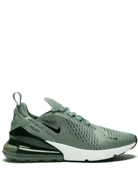Shop Nike Air Max 270 Sneakers In Clay GreenBlack Deep Jungle W