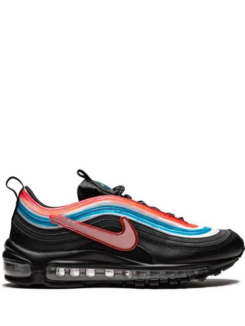 Shop Nike Air Max 97 'On Air Seoul' Low Top Sneakers In Black