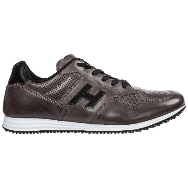 Shop Hogan Olympia X - H205 Sneakers In Grigio